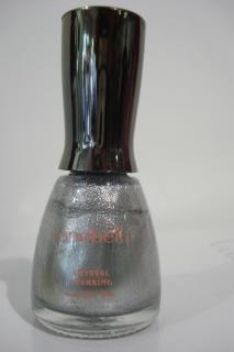 VERNIS A ONGLE ARGENT CRYSTAL SPARKING LONGUE TENUE 18ML MARQUE SONOBELLA