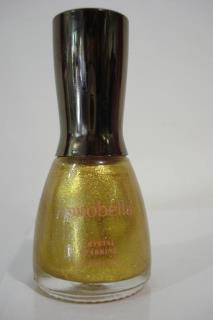 VERNIS A ONGLE   CRYSTAL SPARKING LONGUE TENUE MARQUE SONOBELLA COULEUR OR 18ML